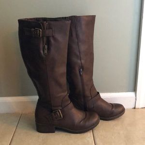 Sonoma Women's Tall Boots 7.5 Brown